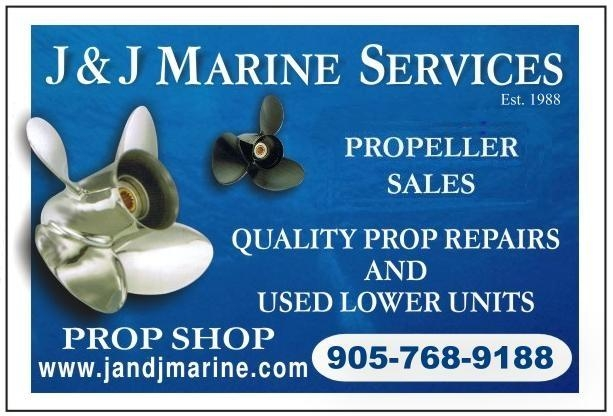 J and J Marine Services  - Your Prop Repair Specialists -  Call 905-768-9188 - www.jandjmarine.com